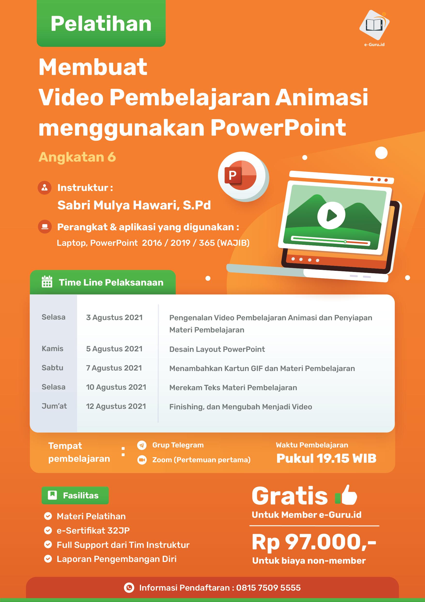 04. Membuat Video Pembelajaran Animasi menggunakan PowerPoint-02