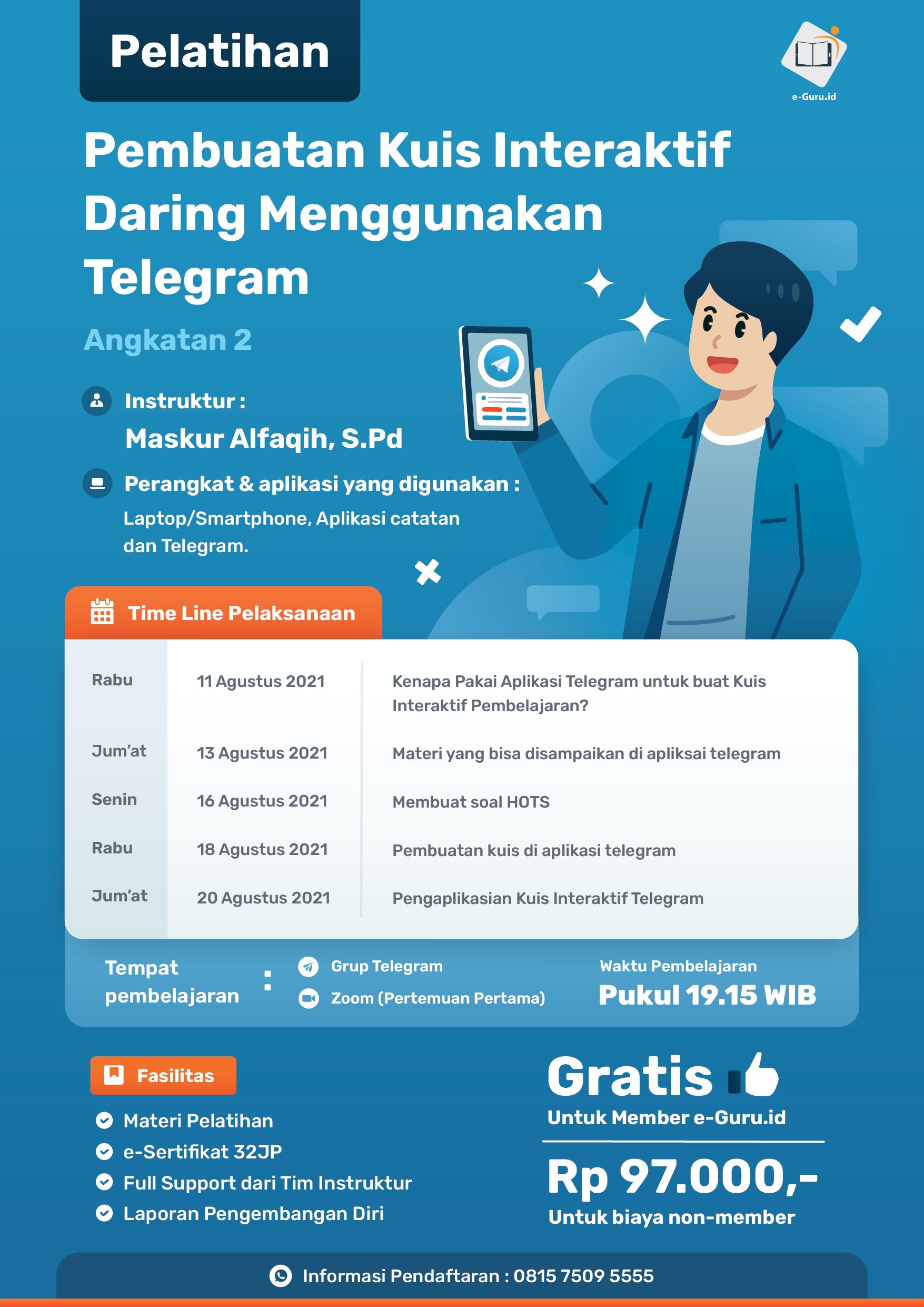 13. Pembuatan Kuis Interaktif Daring Menggunakan Telegram-02