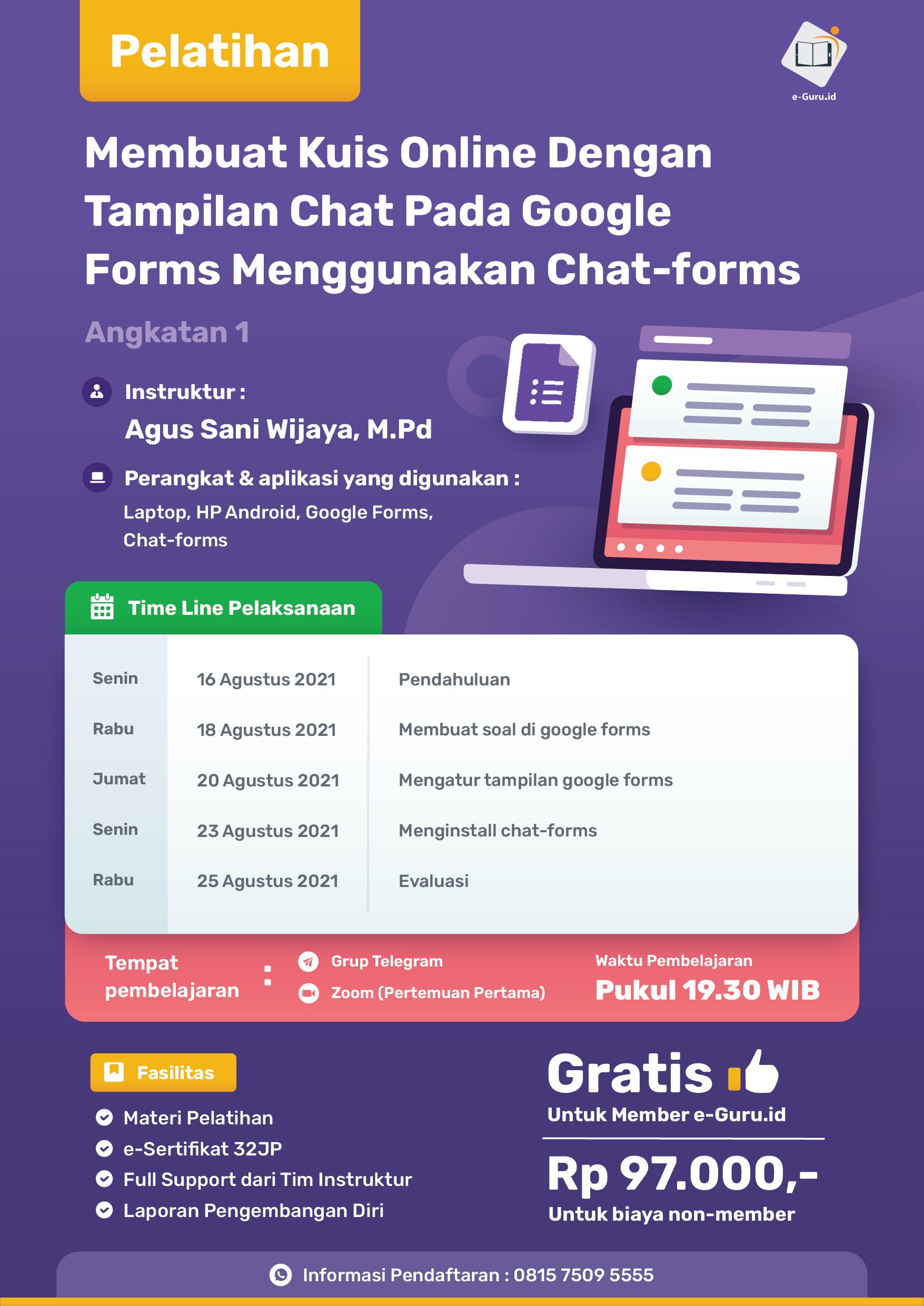 15. Membuat Kuis Online Dengan Tampilan Chat Pada Google Forms-02