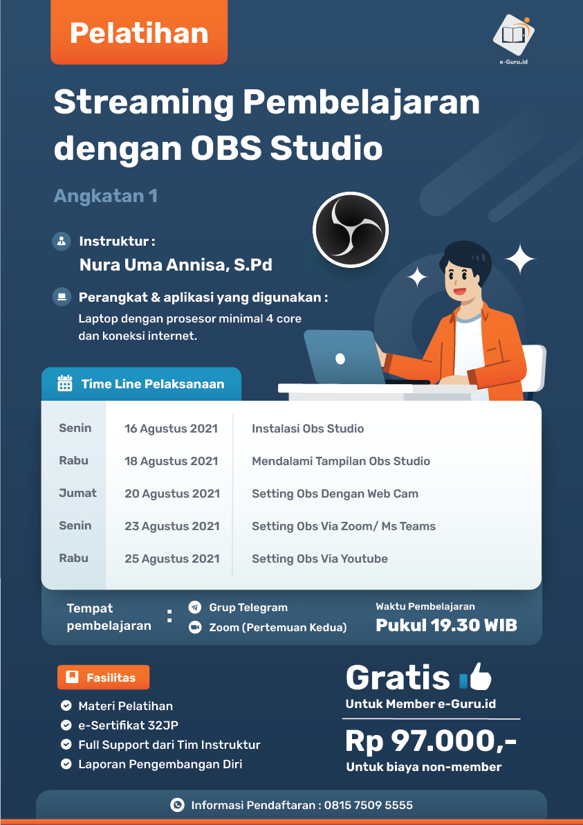 14. Streaming Pembelajaran dengan OBS Studio-02